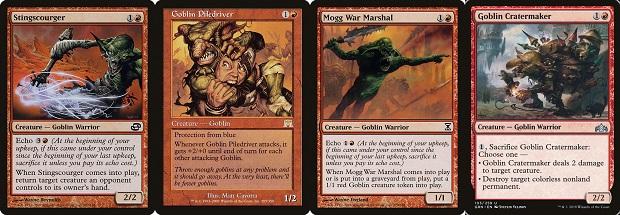 棘鞭使い,ゴブリンの群衆追い,モグの戦争司令官,ゴブリンのクレーター掘り